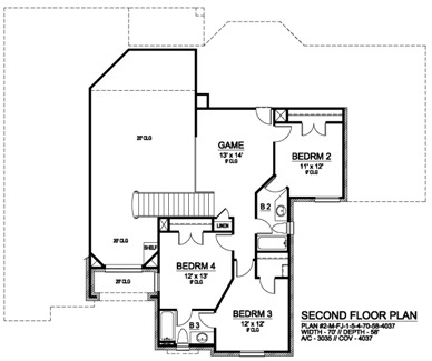 Featured House Plan Bhg 5297