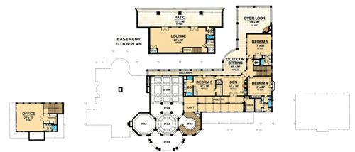 Second Floor 2 image of Featured House Plan: BHG - 5181