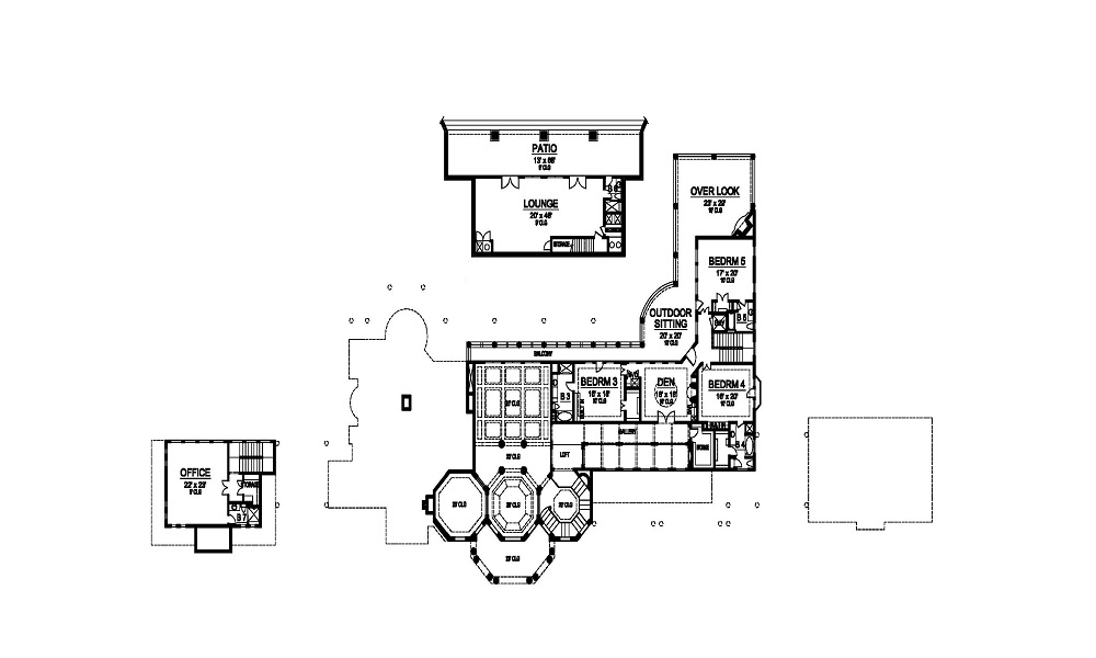 Second Floor image of Featured House Plan: BHG - 5181
