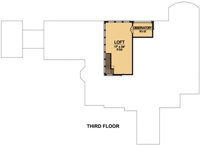 Third Floor image of Featured House Plan: BHG - 5471