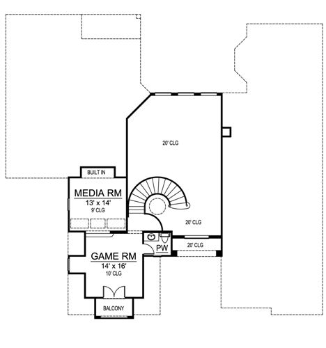 Second Floor image of Featured House Plan: BHG - 4896