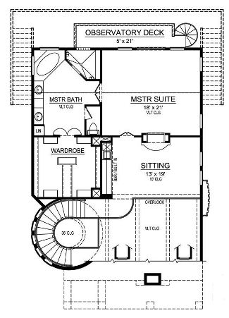 Third Floor image of Featured House Plan: BHG - 5286