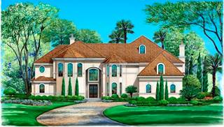 image of Spanish Oaks House Plan