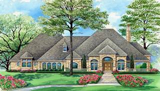 image of European Four Bedroom House Plan