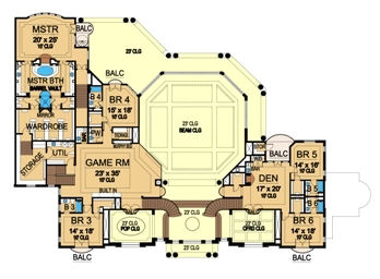 Second Floor image of Featured House Plan: BHG - 5123