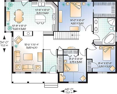 First level image of Featured House Plan: BHG - 4018