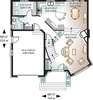 First level image of Featured House Plan: BHG - 3327