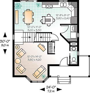First level image of Featured House Plan: BHG - 4554