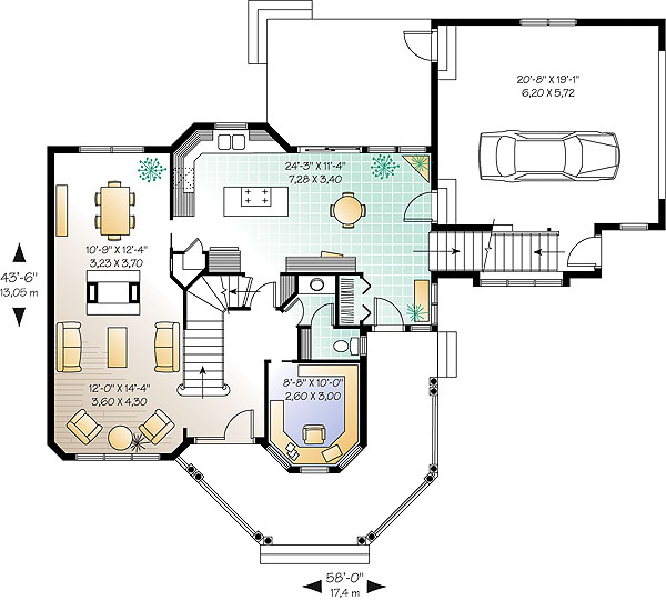 First level image of Featured House Plan: BHG - 1193