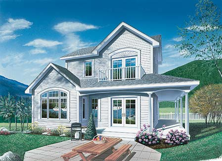 Larch Lake 1 House Plan