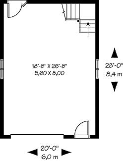 First level image of Featured House Plan: BHG - 4568