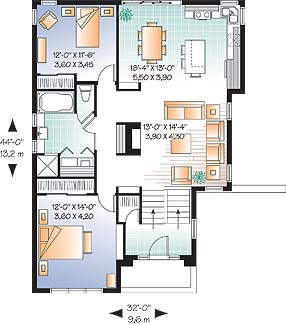 First level image of Featured House Plan: BHG - 4640