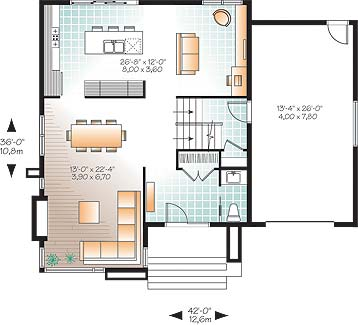 First level image of Featured House Plan: BHG - 3307