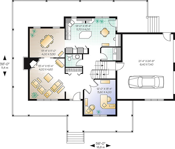 First level image of Featured House Plan: BHG - 1177