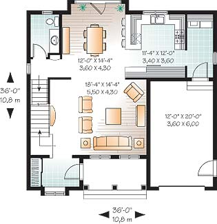 First level image of Featured House Plan: BHG - 3685