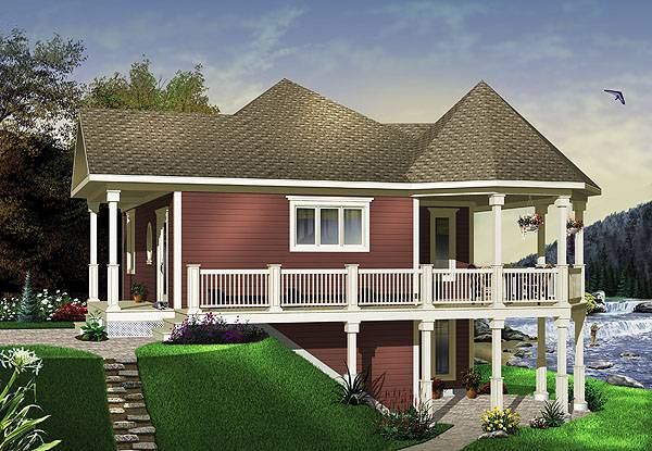 The Trail Seeker 2 House Plan