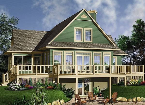 The Pocono 2 House Plan