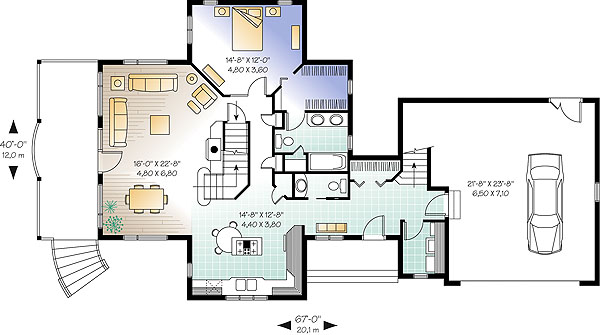 First level image of Featured House Plan: BHG - 1189