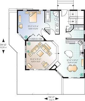 First level image of Featured House Plan: BHG - 4651