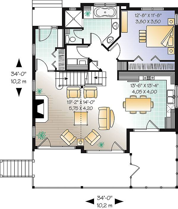 First level image of Featured House Plan: BHG - 1190