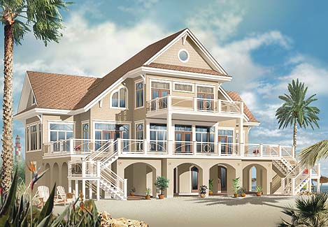 The Oceancrest House Plan