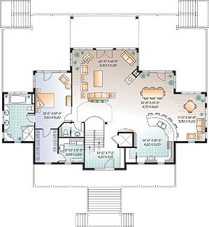 First level image of Featured House Plan: BHG - 4547
