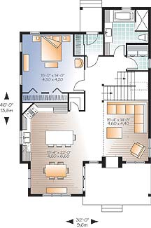 First level image of Featured House Plan: BHG - 4752