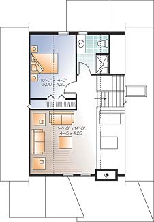 Second level image of Featured House Plan: BHG - 4752