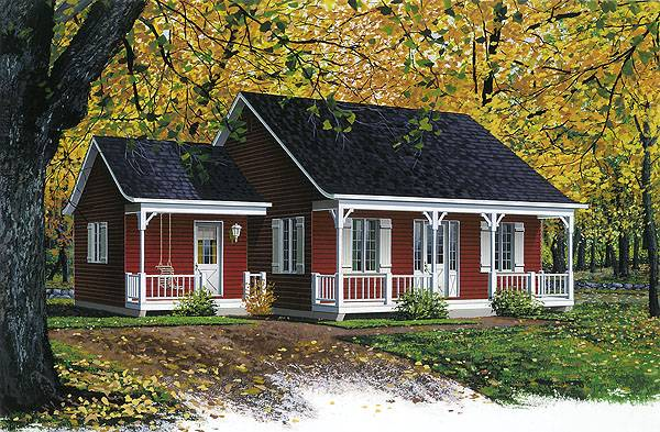 Estimate the cost to build for inland cottage 2 bhg Cost to build a cottage