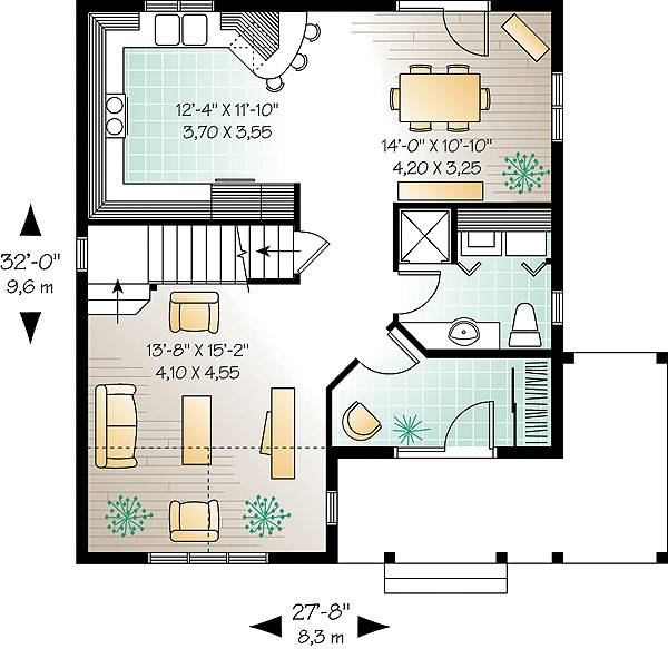 First level image of Featured House Plan: BHG - 1486