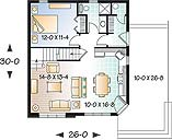 First level image of Featured House Plan: BHG - 2314