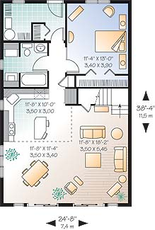 First level image of Featured House Plan: BHG - 4560