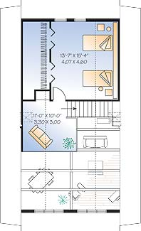 Second level image of Featured House Plan: BHG - 4560