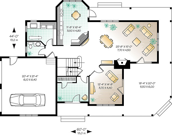First level image of Featured House Plan: BHG - 1173