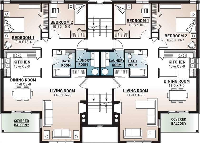 2nd Floor Plan image of Featured House Plan: BHG - 7855