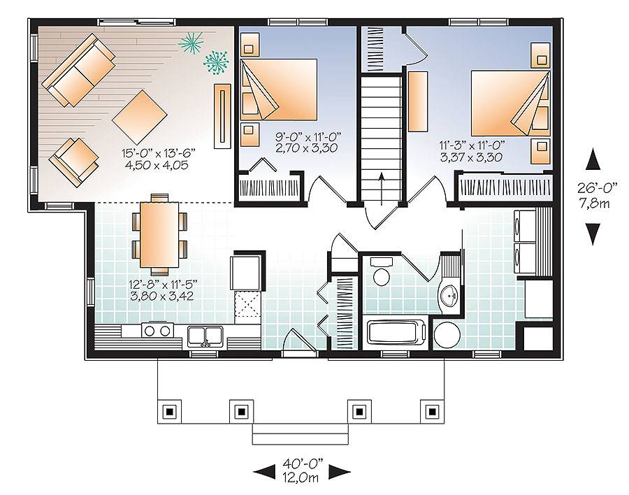 image of Featured House Plan: BHG - 9523