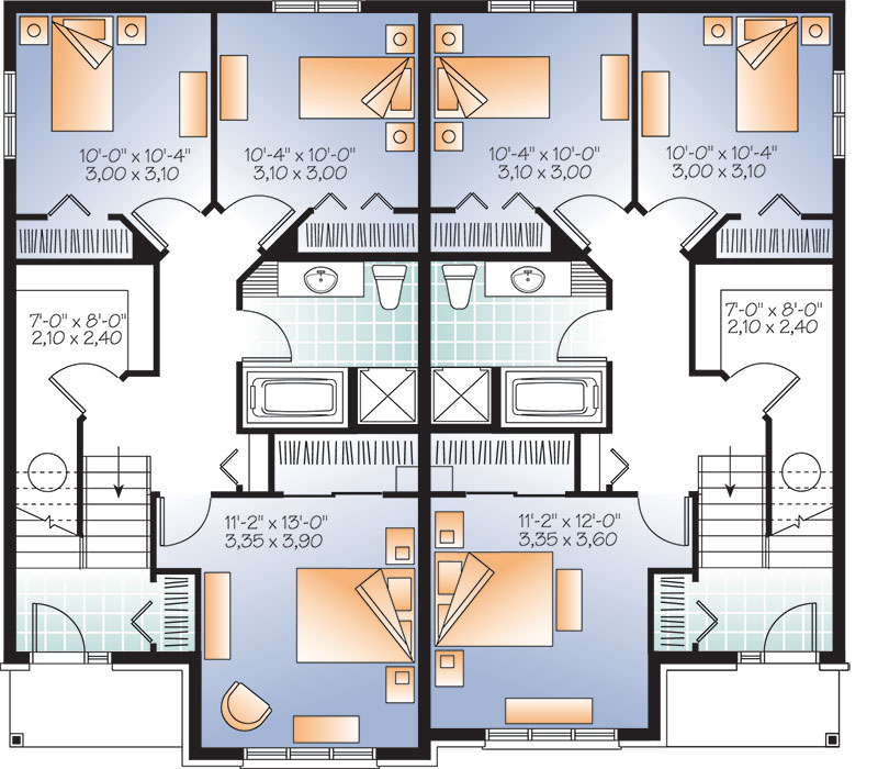 Basement image of Featured House Plan: BHG - 3275