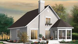 image of The Sunburst 3 House Plan