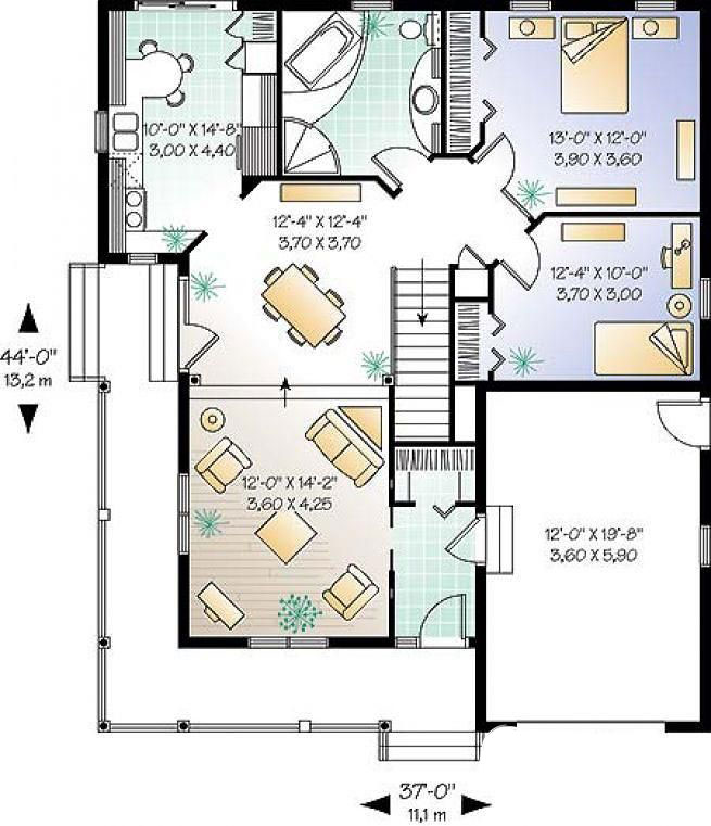 First level image of Featured House Plan: BHG - 3314