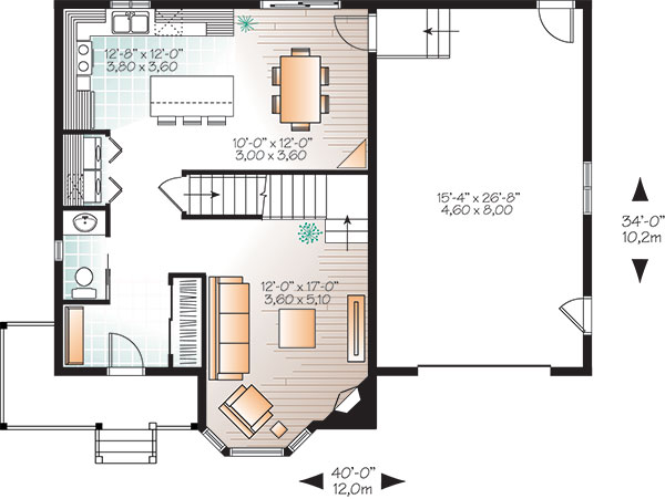 First level image of Featured House Plan: BHG - 9816