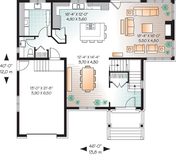 First level image of Featured House Plan: BHG - 9548