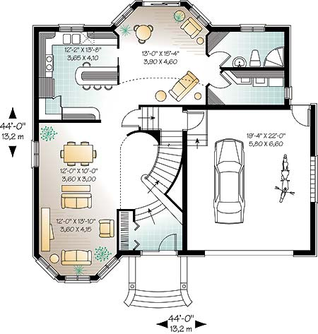 First level image of Featured House Plan: BHG - 4671