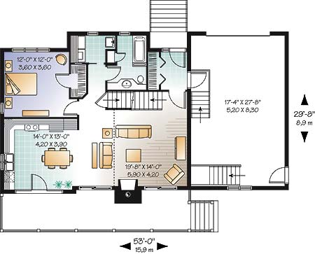 First level image of Featured House Plan: BHG - 4751