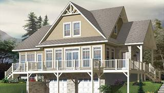 image of The Pocono 3 House Plan