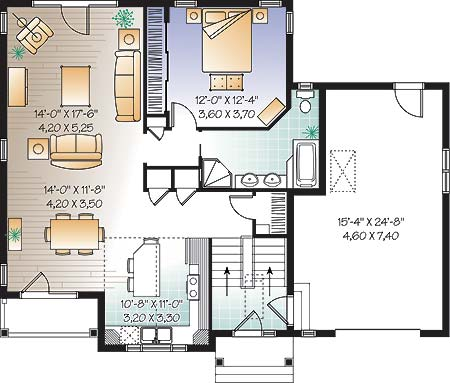First level image of Featured House Plan: BHG - 4680
