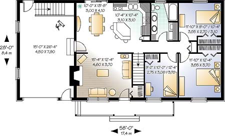 First level image of Featured House Plan: BHG - 4578