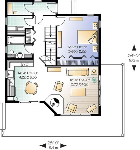 First level image of Featured House Plan: BHG - 4672