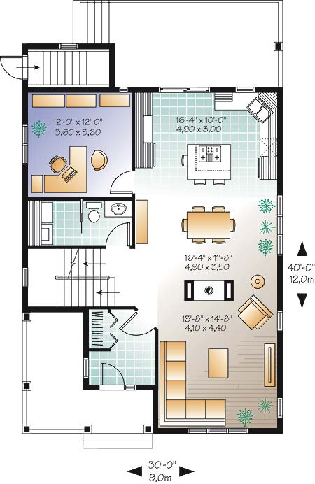 First level image of Featured House Plan: BHG - 4579