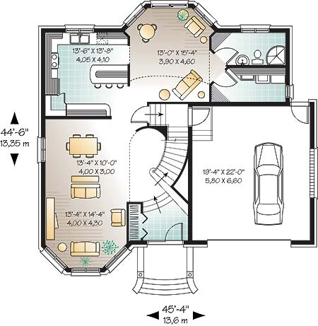First level image of Featured House Plan: BHG - 4761