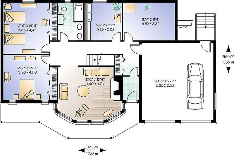 First level image of Featured House Plan: BHG - 4647